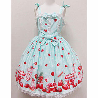 Angelic Pretty - Angelic Pretty Milky Berryワンピース✨ミント