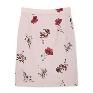 PROPORTION BODY DRESSING - プロポ♡花柄プリントタイトスカート