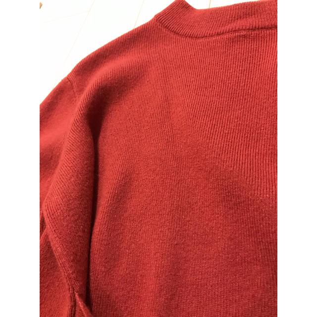 nano・universe(ナノユニバース)のナノユニバース  フロントリボンニット  レディースのトップス(ニット/セーター)の商品写真