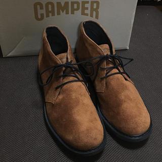 カンペール(CAMPER)の新品 Camper Neuman カンペール ニューマン レザーブーツ ブラウン(ブーツ)