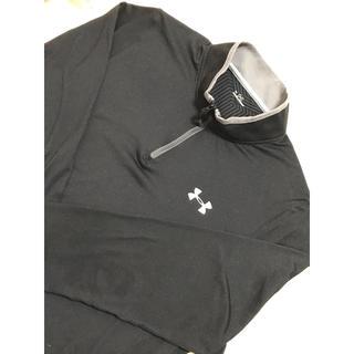 UNDER ARMOUR - ◆入手困難品◆ 超美品 アンダーアーマー ジップ ゴルフウェア 長袖 ポロシャツ