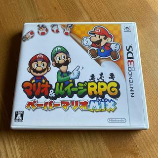 ニンテンドー3DS(ニンテンドー3DS)のマリオ&ルイージRPG ペーパーマリオMIX 3DS(携帯用ゲームソフト)