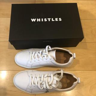 ウィッスルズ(Whistles)の新品未使用 whistles スニーカー 39(スニーカー)