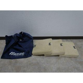 ミズノ(MIZUNO)のMIZUNO 軟式用塁ベース 3枚 収納袋付き(その他)