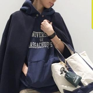 L'Appartement DEUXIEME CLASSE - アパルトモン☆シュタンバウム★ネイビーロゴパーカー