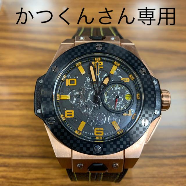 スーパーコピー 時計 店舗 gu / HUBLOTタイプ腕時計の通販 by クニズ's shop