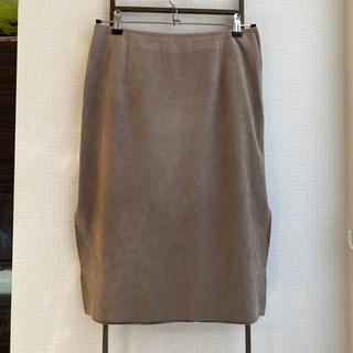 Noble - Noble スエードタイトスカート