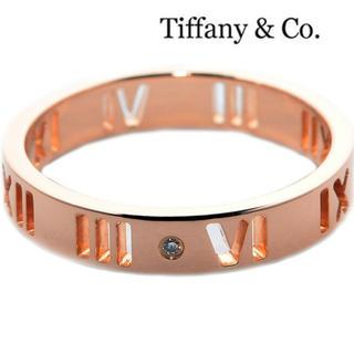 ティファニー(Tiffany & Co.)のティファニー Tiffany&Co. アトラスリング ローズゴールド(リング(指輪))