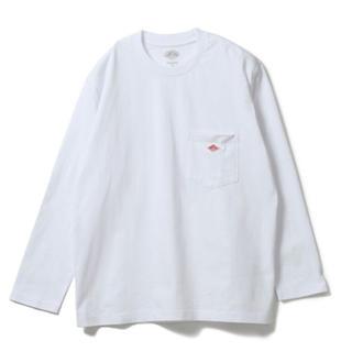 ダントン(DANTON)のDANTON ポケットロングスリーブTシャツ(Tシャツ(長袖/七分))