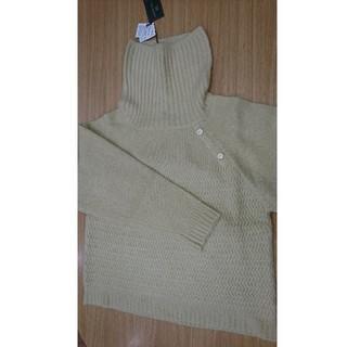 新品タートルネックセーター(ニット/セーター)