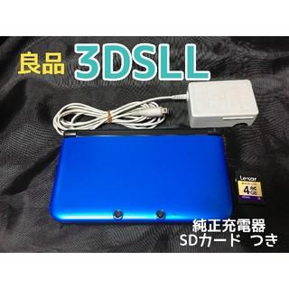 ニンテンドー3DS - 【良品】ニンテンドー3DSLL ブルー×ブラック