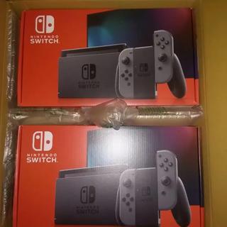 Nintendo Switch - 【新品】2箱セット 新型 Nintendo Switch Joy-Con グレー