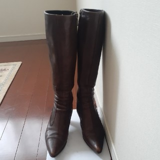 ブリジットバーキン(Bridget Birkin)のBridget Birkin茶色のロングブーツ(ブーツ)