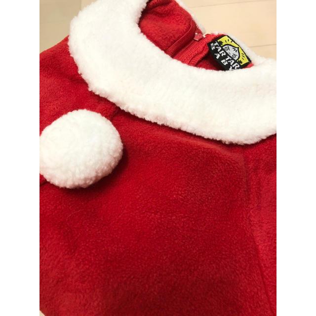ベビー用 サンタコスチューム キッズ/ベビー/マタニティのベビー服(~85cm)(その他)の商品写真