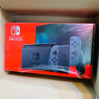 Nintendo Switch - 新品!Nintendo Switch Joy-Con(L)/(R) グレー