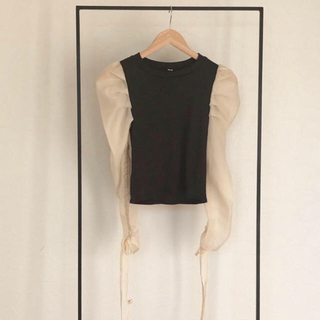 Ameri VINTAGE - see-through chiffon tops♡amail todayful