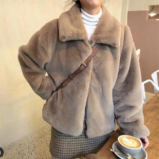 オオトロ(OHOTORO)の韓国 ファージャケット レディース(毛皮/ファーコート)