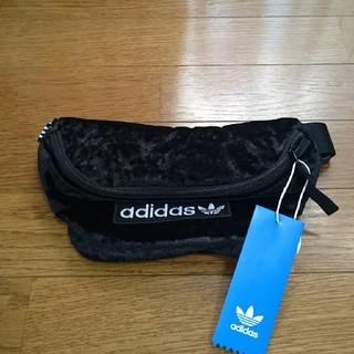 adidas - 新品未使用 adidas アディダス ウエストポーチ 黒