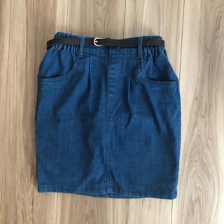 しまむら - デニムタイトスカート