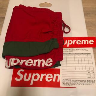 Supreme - supreme side logo track pant 19aw