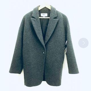 エムエムシックス(MM6)のMM6 マルタンマルジェラ ウール コート ジャケット アウター(チェスターコート)