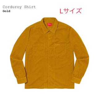 Supreme - Supreme Corduroy Shirt コーデュロイ L