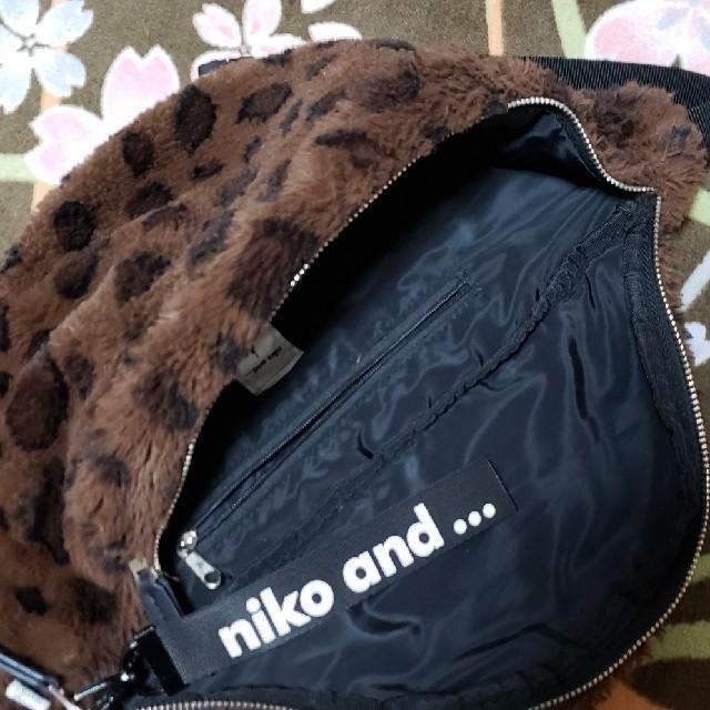 niko and...(ニコアンド)のチョッパーマン様 ニコアンド ファー ボディバッグ レディースのバッグ(ボディバッグ/ウエストポーチ)の商品写真