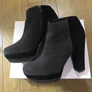 ジルスチュアート(JILLSTUART)のJILLSTUART♡バイカラーショートブーツ(ブーツ)