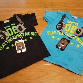 DOUBLE.B - ミキハウス ダブルB Tシャツ 2枚セット 90