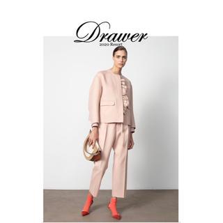 Drawer - 新品未使用!即完売!drawer 2020 resort フリルジャケット 38