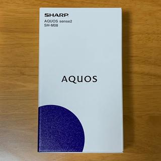 AQUOS - SHARP AQUOS sense2 SH-M08 SIMフリー ホワイト