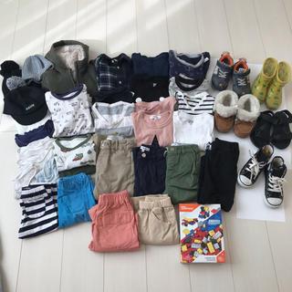 petit main - 再値下げ★男の子 子供服 靴 まとめ売り 90~110 39点
