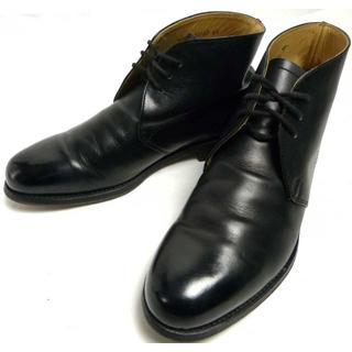 フリードマン FRIEDMAN レザー チャッカブーツ US6.5(24.5cm(ブーツ)