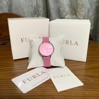 Furla - FURLA  フルラ   バタフライモチーフ腕時計 ピンク