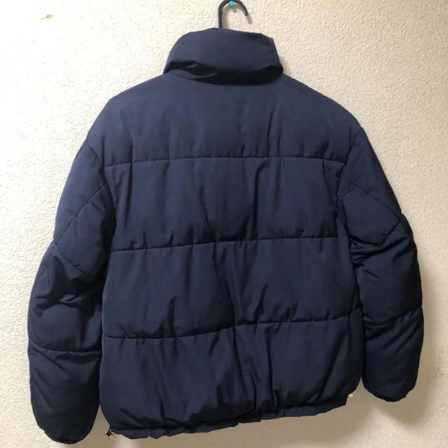GU(ジーユー)のGU *ネイビーダウンジャケットM レディースのジャケット/アウター(ダウンジャケット)の商品写真