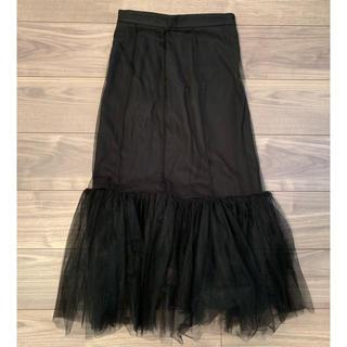 ルシェルブルー(LE CIEL BLEU)の新品☆ルシェル ブルー スカート(ひざ丈スカート)