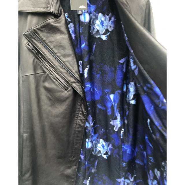LAD MUSICIAN(ラッドミュージシャン)の名作 ラッドミュージシャン  ライダースジャケット 裏地花柄 サンプル メンズのジャケット/アウター(ライダースジャケット)の商品写真