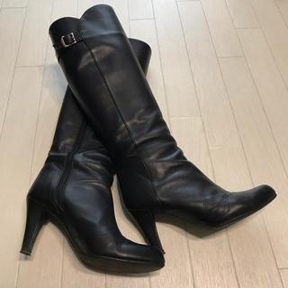 ダイアナ(DIANA)のDIANA ベルトデザイン 上品ロングブーツ 23.5(ブーツ)