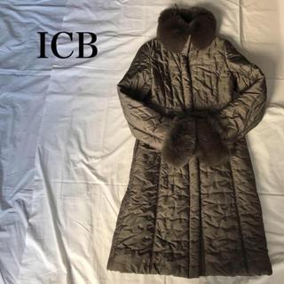 ICB - ICB 中綿 ファー コート【 ボッシュ セオリー コムサ   好きに