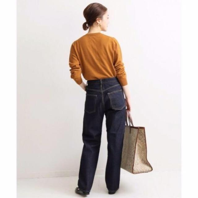 IENA(イエナ)のセルビッチハイライズデニムパンツ レディースのパンツ(デニム/ジーンズ)の商品写真