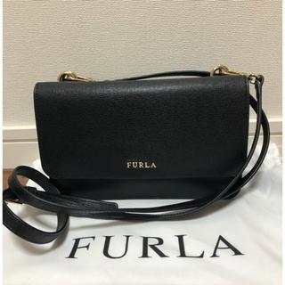 Furla - 【超美品】フルラ リーヴァ クロスボディーバッグ 黒