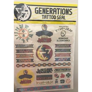 GENERATIONS - タトゥーシール