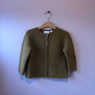 ZARA KIDS - ZARA knit ニットカーディガン 100センチ