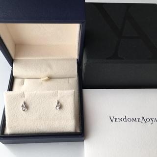 Vendome Aoyama - ① ヴァンドーム青山  PT ダイヤモンド ピアス