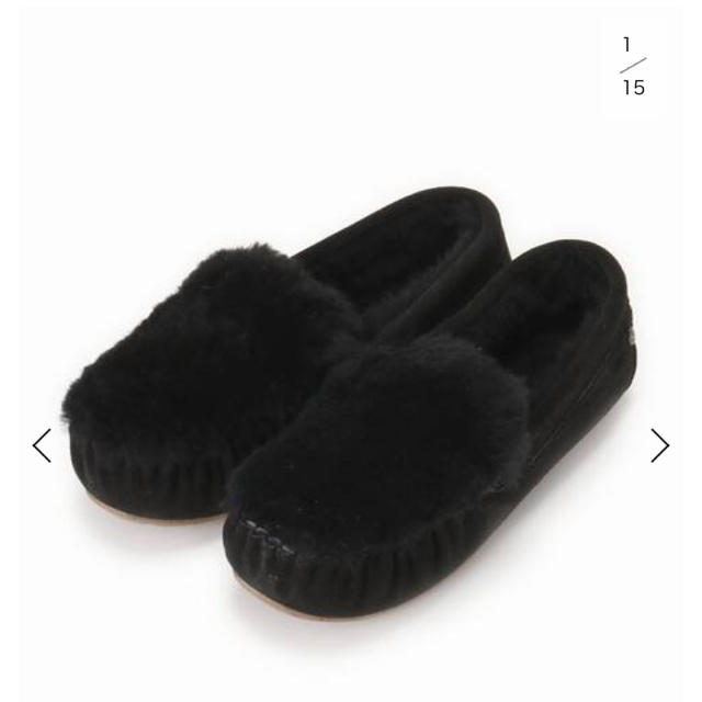 IENA(イエナ)のIENA EMU FURスリッポン  レディースの靴/シューズ(スリッポン/モカシン)の商品写真