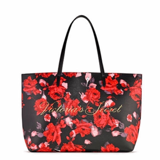Victoria's Secret(ヴィクトリアズシークレット)のヴィクトリアシークレット新作tote薔薇柄新品!非売品限定品です! レディースのバッグ(トートバッグ)の商品写真