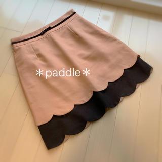 PRIME PATTERN - プライムパターン スカラップリボンスカートS