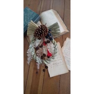 大王松のお正月飾り(リース)