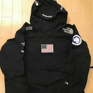 17ss Supreme THE North Face pullover