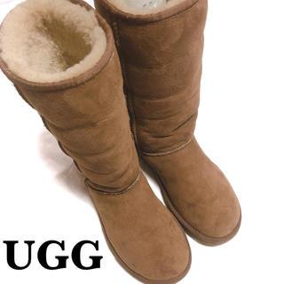 UGG - UGG アグ ムートンブーツ W7 24cm キャメル